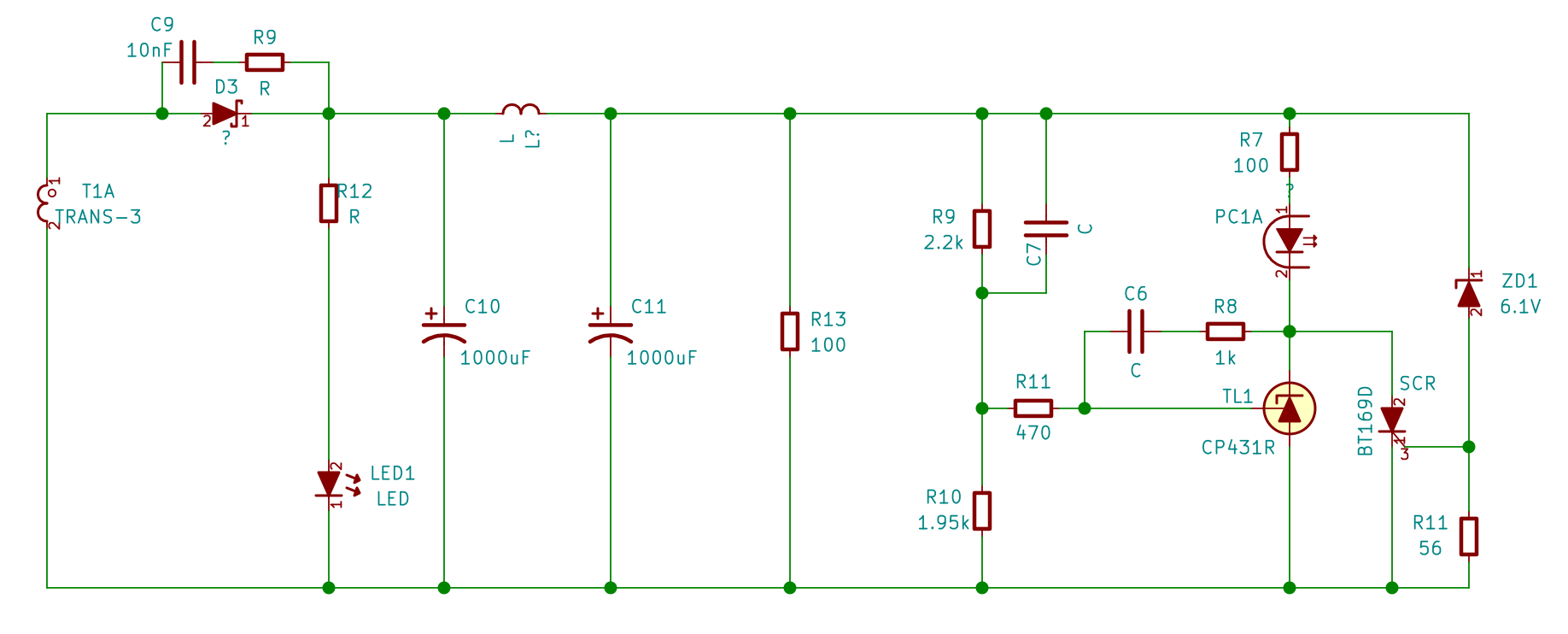 In Which The Author Comes To Grips With Smps Mattinxs Potential Divider Circuit Feedback Section Consists Of A Tl231 Compatible Device Decoupling Capacitors Optoisolator And Half Bringing